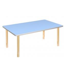 Stôl drevený obdĺžnikový OST1200 modrý