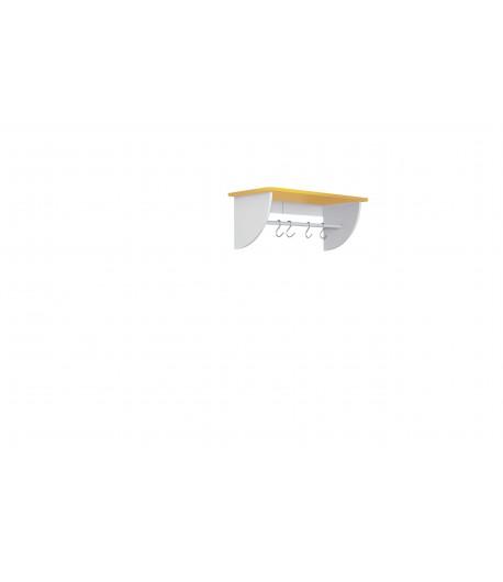 Polička SP1 žltá