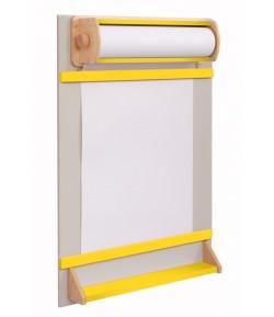 Detská tabuľa na kreslenie KTOR žltá