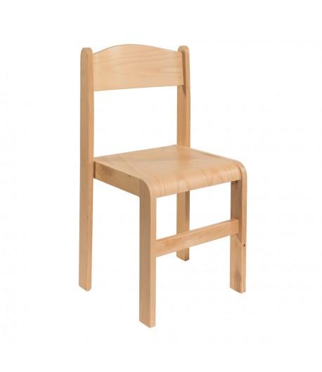 Detská stolička buková BS1