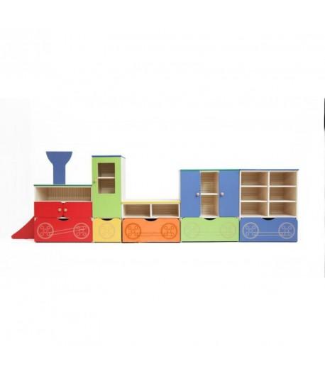 Detský nábytok zostava Vláčik ZV1