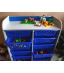 Detská skrinka organizér na hračky