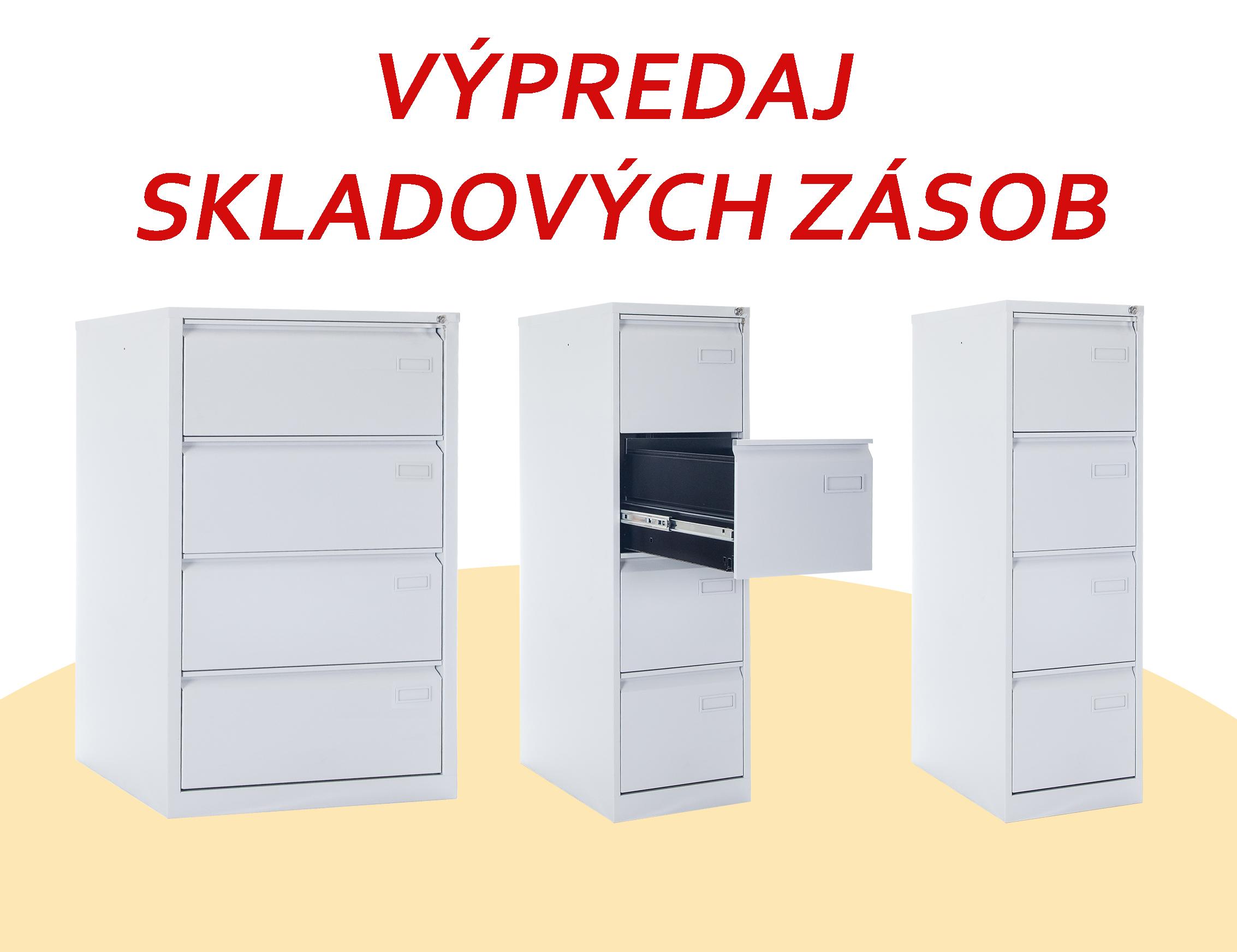 Kartotékové skrine - výpredaj